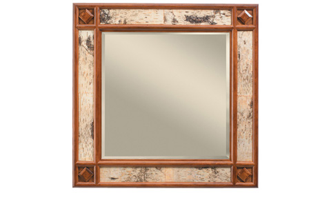 Harden Furniture - Whiteface Mirror - 1638
