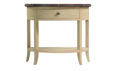 Harden Furniture - Grand Forks Demi-Lune Table - 1675