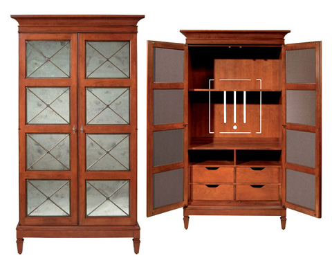 Harden Furniture - St. Regis Entertainment Center - 1806