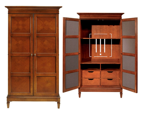 Harden Furniture - St. Regis Entertainment Center - 1846