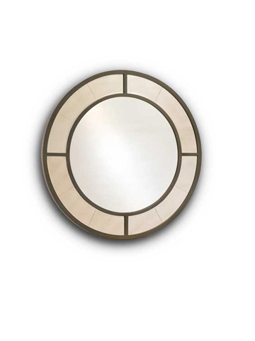 Harden Furniture - Nona Round Mirror - 1905