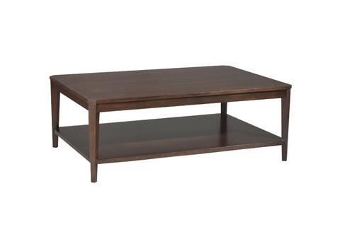 Harden Furniture - Rectangular Wood Top Cocktail Table - 1945-100