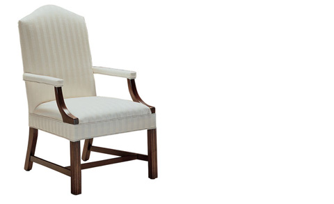 Harden Furniture - Upholstered Arm Chair with Stretchers - 4420-000