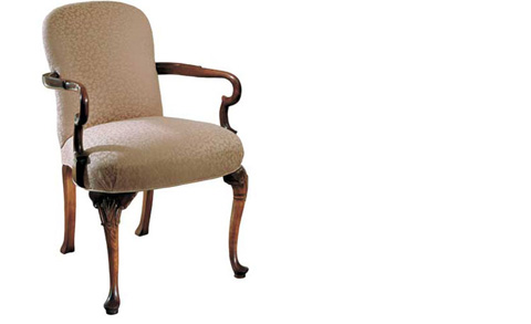Harden Furniture - Queen Anne Arm Chair - 4424-000