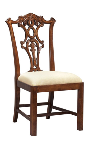 Harden Furniture - Fiddle Back Side Chair - 513