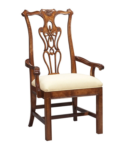 Harden Furniture - Classic Cherry Arm Chair - 538