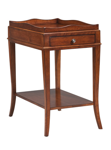 Harden Furniture - Fixed Shelf End Table - 541