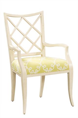 Harden Furniture - Trellis Arm Chair - 558