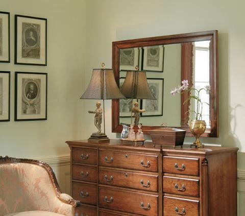 Harden Furniture - North Creek Landscape Mirror - 572