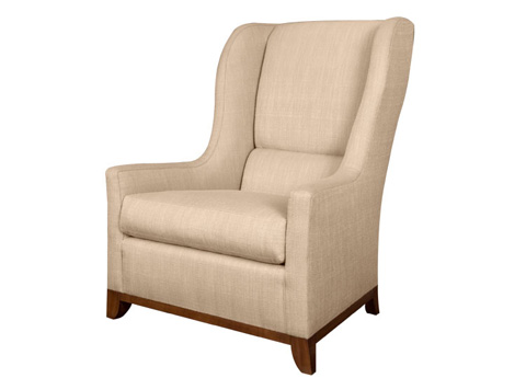 Harden Furniture - Tight Back Wing Chair - 6428-000
