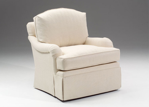Harden Furniture - Arm Chair with Waterfall Skirt - 6479-000