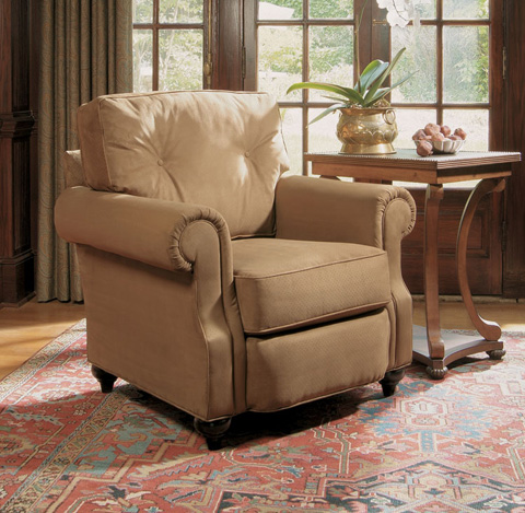 Harden Furniture - Panel Roll Arm Chair - 6483-000