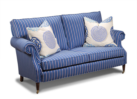 Harden Furniture - Upholstered Tapered Foot Sofa - 6611-074