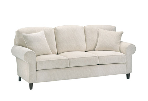 Harden Furniture - Loose Pillow Back Three Seat Sofa - 6616-085