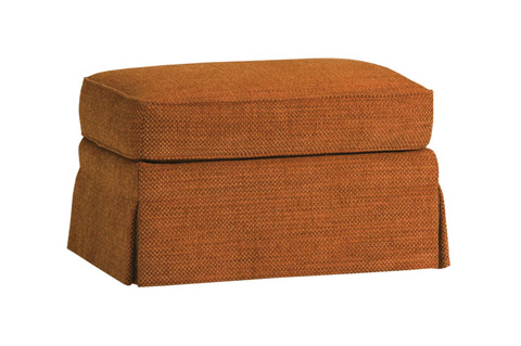 Harden Furniture - Skirted Ottoman - 7307-000