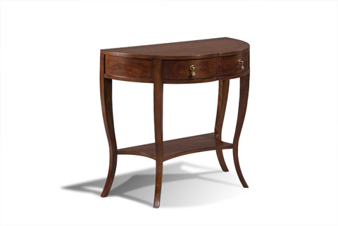 Harden Furniture - Demi-Lune Console - 769