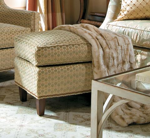 Harden Furniture - Rectangular Cushion Ottoman - 8309-000