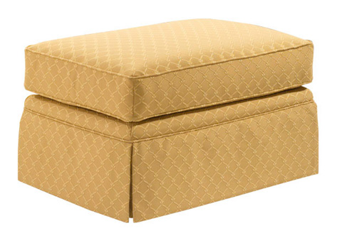 Harden Furniture - Attached Cushion Ottoman - 8335-000
