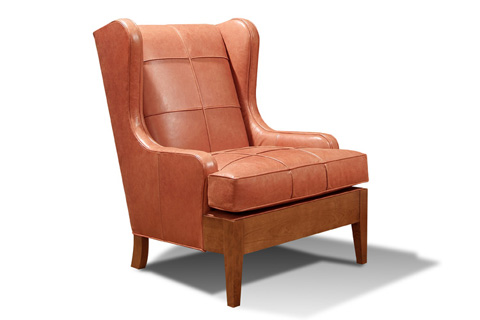 Harden Furniture - Continuous Arm Wing Chair - 8430-000