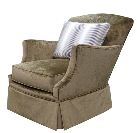 Harden Furniture - Tight Back Skirted Accent Chair - 8431-000