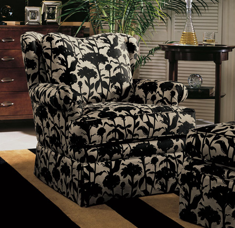 Harden Furniture - Pleated Arm Accent Chair - 8458-000
