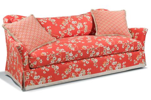 Harden Furniture - Single Seat Sofa with Waterfall Skirt - 8547-087