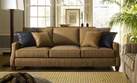 Harden Furniture - Track Arm Sofa with Tapered Foot - 8690-093