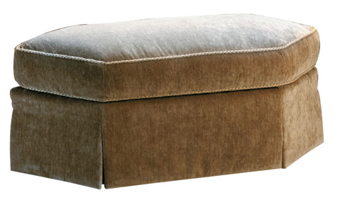 Harden Furniture - Wedge Ottoman with Attached Cushion - 9319-000