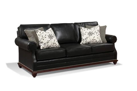 Harden Furniture - Carved Wood Frame Sofa - 9623-082