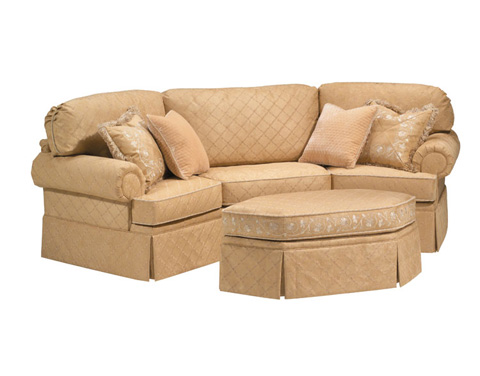 Harden Furniture - Traditional Roll Arm Wedge Sofa - 9633-112