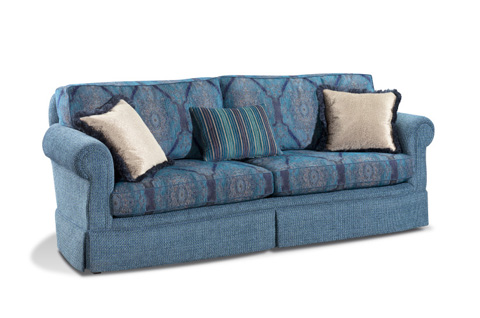 Harden Furniture - Two Cushion Skirted Sofa - 8664-097
