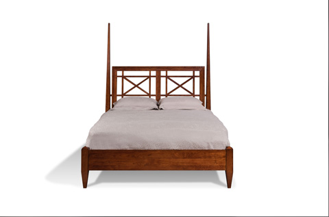 Harden Furniture - Queen Washingtons Piazza Bed - 865-5/0