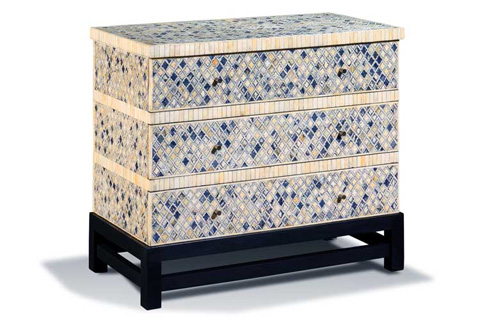 Harden Furniture - Bone Inlaid Chest - 128