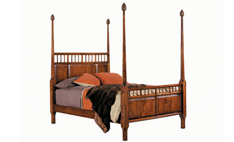Harden Furniture - King Ausable Bed - 1608-6/6