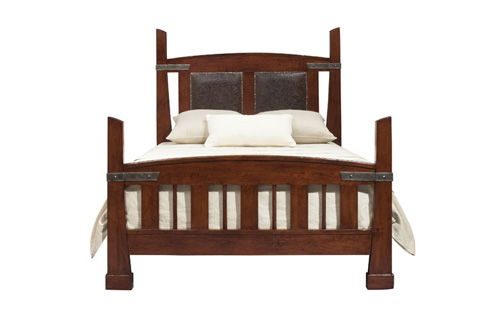 Harden Furniture - King Iron Road Bed - 1609-6/6