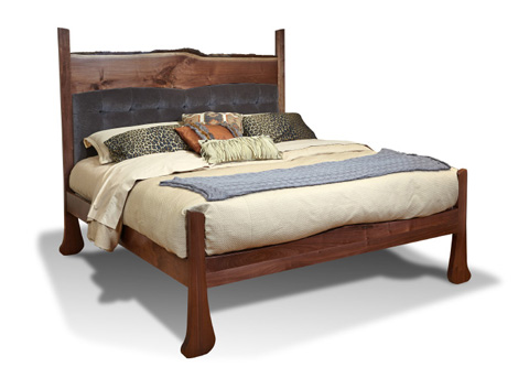 Harden Furniture - Live-Edge King Bed - 1645-6/6