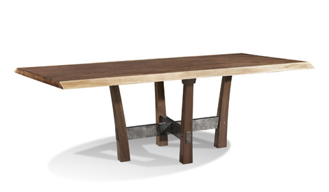 Harden Furniture - Iron Base Dining Table - 1662-100