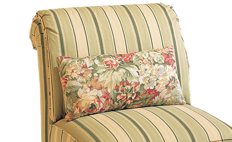 Harden Furniture - Welted Kidney Pillow - 40-14