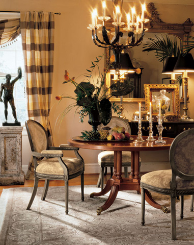Harden Furniture - Custom Dining Table - 503-310