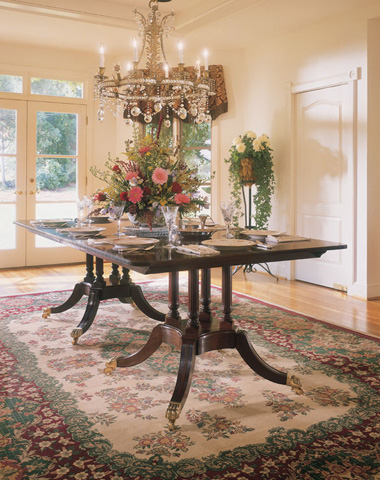 Harden Furniture - Custom Dining Table - 587-302