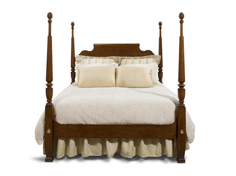 Image of King Traditional Custom Bed