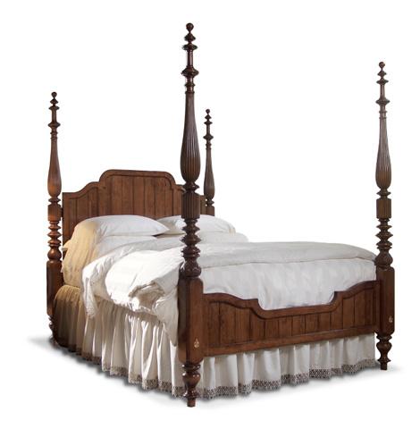Harden Furniture - King Designer Custom Bed - 661-13-6/6