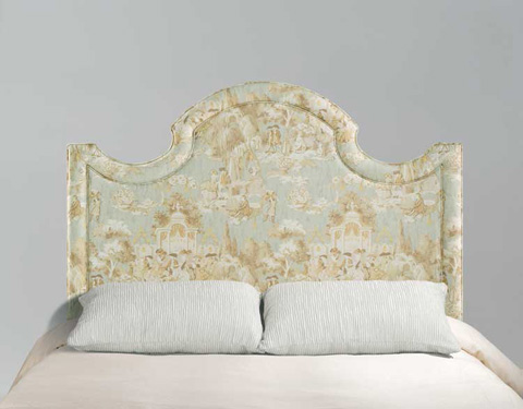 Harden Furniture - Queen Upholstered Headboard and Frame - 773-00-5/0