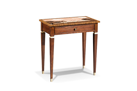 Harden Furniture - Marquetry Accent Table - 821