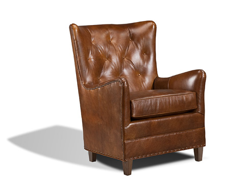 Harden Furniture - Leather Club Chair - 8423-000