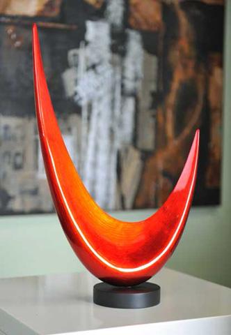 Hebi Arts, Inc. - Moon Sculpture - LPSC165
