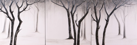Image of Trees Painting
