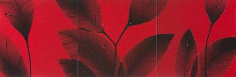 Hebi Arts, Inc. - Red Leaf Painting - WP0003