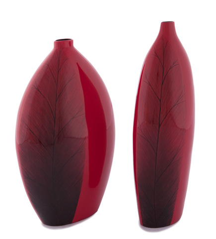 Hebi Arts, Inc. - Tall Leaf Vase - WV0001-L
