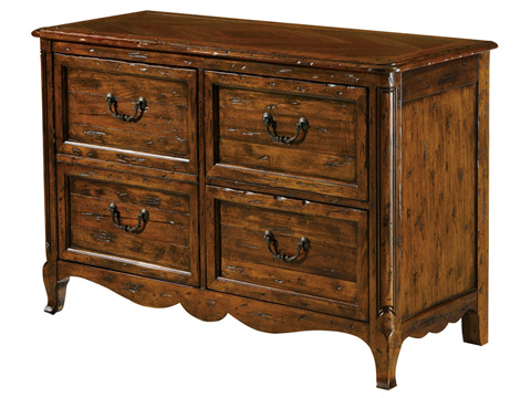 Image of File Chest with Four Drawers